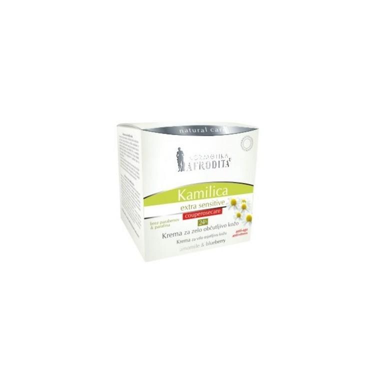 Afrodita Camomile Extra Sensitive 24h Cream