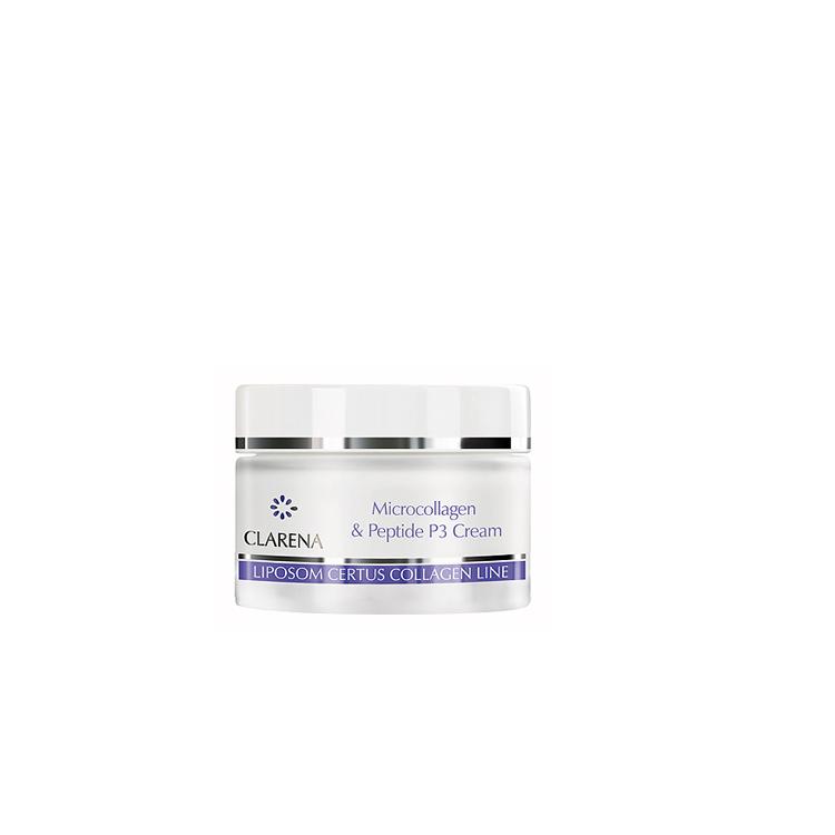 Clarena Collagen & Microcollagen krem mikrokolagenowo-peptydowy