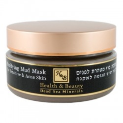 Health&Beauty Purifying Mud Mask For Sensitive and Acne Skin