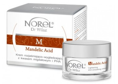 Norel Mandelic krem rozjaśniająco-wygładzający z kwasem migdałowym