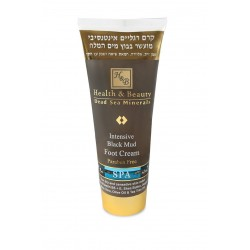 Health&Beauty Intensive Black Mud Foot Cream