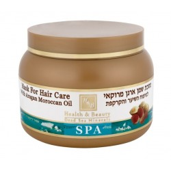 Health&Beauty Mask For Hair Care With Argan Oil From Morocco