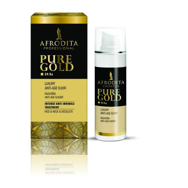 Afrodita Gold 24 Ka Luxury Anti-Age Elixir