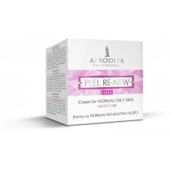 Afrodita AHA Peel Re-New Normal-Oily Skin Night Cream