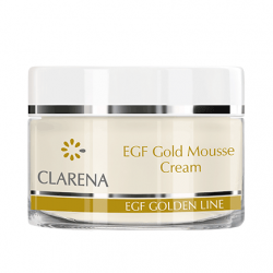 Clarena EGF Golden EGF Gold Mousse Cream