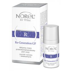 Norel Re-Generation GF aktywny krem przeciwzmarszczkowy pod oczy głęboko regenerujący