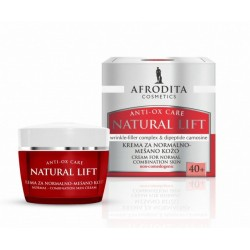 Afrodita Natural Lift For Normal To Combination Skin Cream