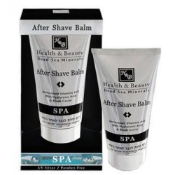 Health&Beauty After Shave Balm with Hyaluronic Acid and Black Caviar