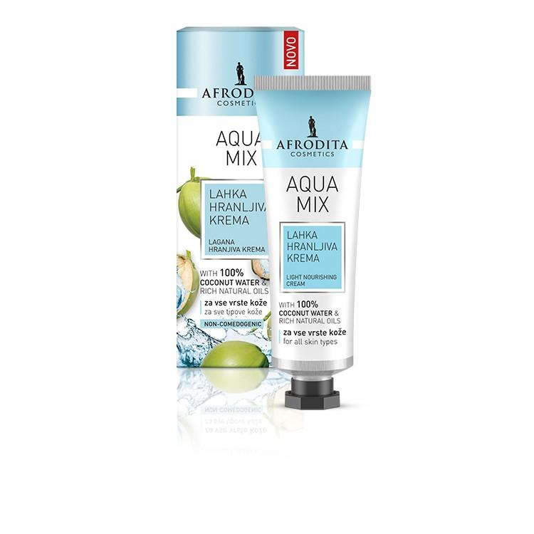 Afrodita Aqua Mix Light Nourishing Cream