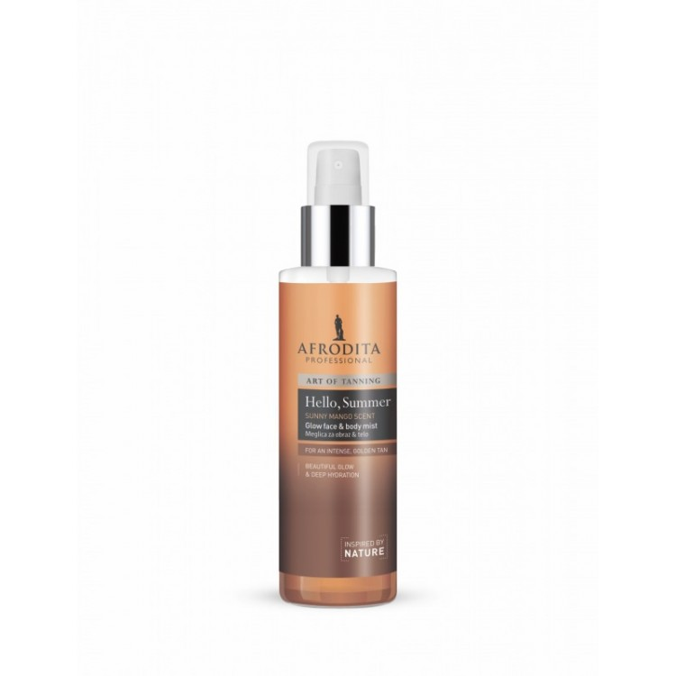 Afrodita Art of Tanning Glow Face and Body Mist