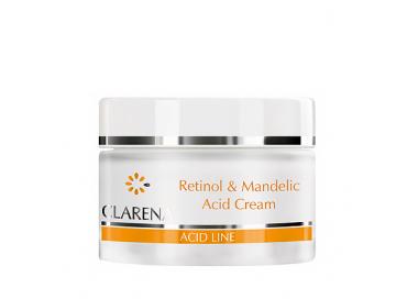 Clarena Acid krem przeciwzmarszczkowy z retinolem i kwasem migdałowym