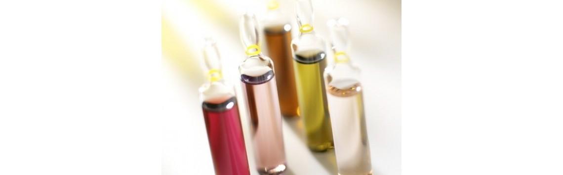 ampułki, serum, perły